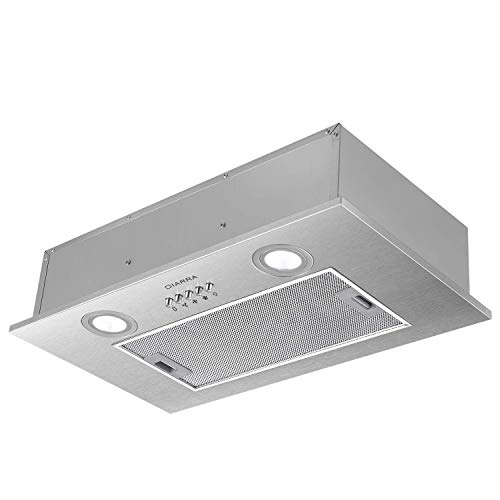 CIARRA CBCS5913A Integrated Cooker Hood 52cm Stainless Steel...