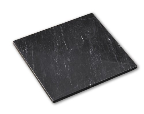 Black Marble Pastry Board, 12 by 12-Inch