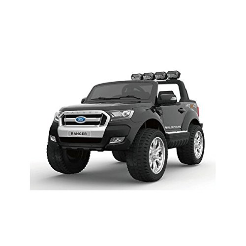 Elektroauto 2Sitzer 2x 12V Ford Ranger 2schwarz metallic–Pack Luxe