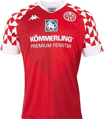 Kappa Mainz05 Heimtrikot Camiseta, Hombre, Racing Red, XXX-Large