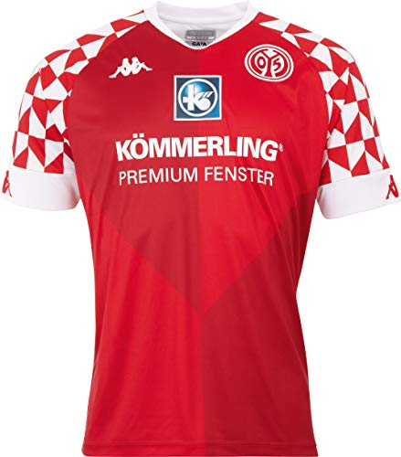 Kappa Herren Mainz05 Heimtrikot Trikot, Racing red, XL