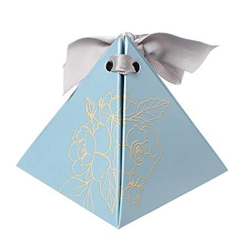 Cadeautas Snoepzakje, 10 stks Creatief Chocolade Pakket Levert Geschenken Tassen Driehoekige Piramide Snoepdozen