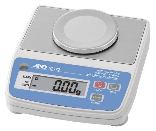 A&D デジタルはかり HT-120 ≪ひょう量:120g 最小表示:0.01g 皿寸法:φ70mm 検定無≫