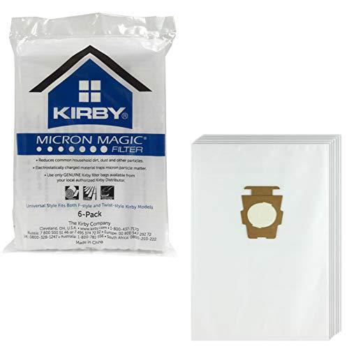Tessuto non tessuto 20 sacchetto per la polvere per Kirby Legend 1,2//Heritage 1,2 Sacchetto per aspirapolvere filtro