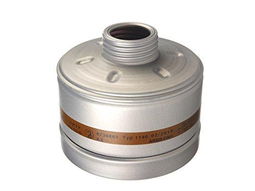 Dräger X-plore Gasfilter 1140 AX (EN 14387) Qualitätsfilter für Masken mit Rundgewinde RD40 (EN 148-1)