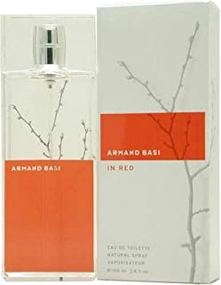 Armand Basi Red by Armand Basi for Women Eau de Toilette Spray 100ml