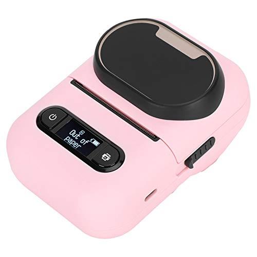 ROMACK Impresora de Etiquetas térmica, se Puede conectar a USB Función de impresión Continua Impresora de Etiquetas para Etiquetas de Ropa Etiquetas de Precios de supermercados, Etiquetas de