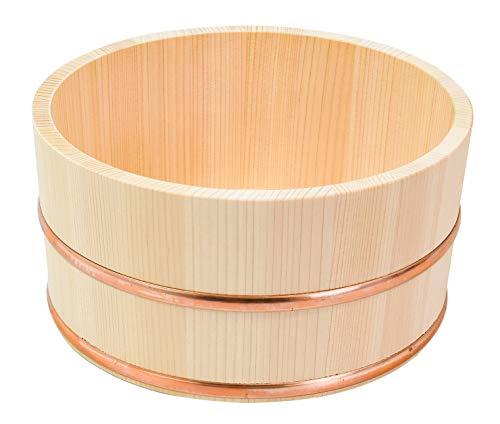 湯桶 木製 直径22×高さ11cm 木曽さわら 日本製 437037
