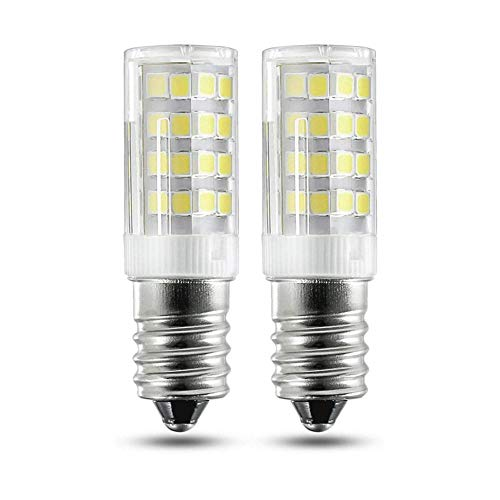 pzcvo KüHlschrank GlüHbirne GlüHbirne Backofen LED Glühbirnen Schraubbefestigung LED-Glühbirnen E14 Badezimmer Glühbirnen E14 LED-Glühbirne cool White,110v
