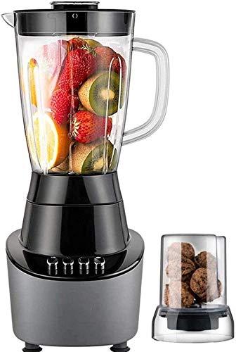 HXIYANG Máquinas exprimidoras, licuadora batidora de frutas eléctrica, batidora multifunción, taza, 1,5 l, sin bpa, para cocina doméstica, oficina