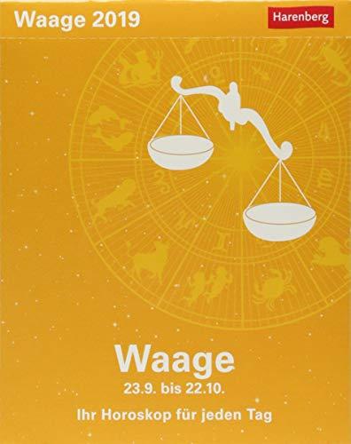 Waage - Kalender 2019: Ihr Horoskop für jeden Tag