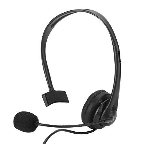 Zestawy słuchawkowe ze skóry PU słuchanie telefonu wygodne z pojedynczym uchem do biura obsługi klienta