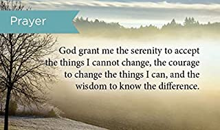 Pass Along Pocket Scripture Cards, Serenity Prayer, Pack of 25