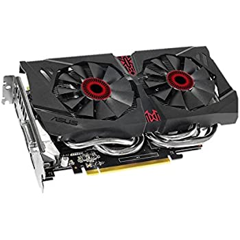 ASUS STRIX GeForce GTX 960 Overclocked 2 GB DDR5 128-bit DisplayPort HDMI 2.0 DVI-I Graphics Card