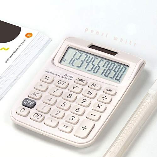 Wetenschappelijke rekenmachine, wetenschappelijke rekenmachine, kleine rekenmachine, schattig meisje, roze, eetbaar, draagbaar, voor studenten, kantoorbenodigdheden, op zonne-energie