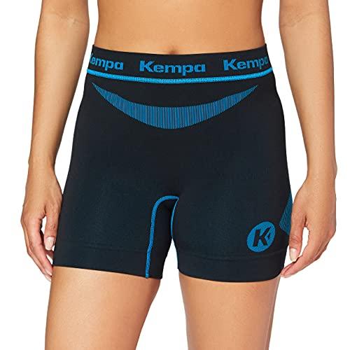 Kempa Erwachsene Bekleidung Teamsport Attitude Pro Shorts, schwarz/Blau, M/L