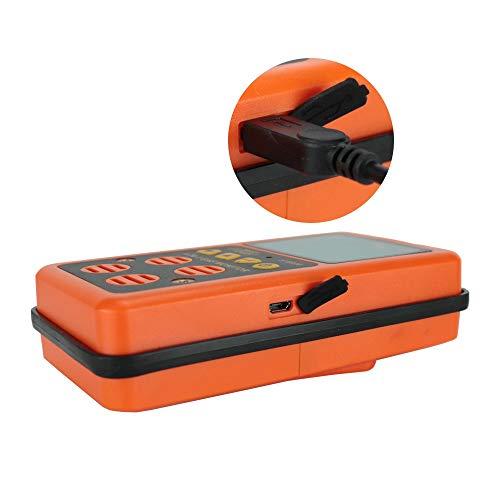 LEL y O2 con alarma de aviso de voz//luz y pantalla LED ST8900 H2S CO Alarma de gas para el hogar con detector de gas m/últiple monitor de nivel de gas combustible