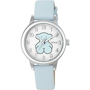 Reloj New Muffin de Acero con Correa de Piel