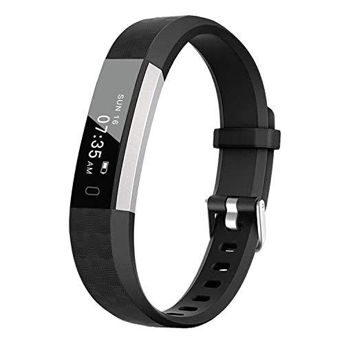 BIGGERFIVE Fitness Armband Uhr für Kinder Mädchen Junge, Schrittzähler Uhr Fitness Tracker mit Kalorienzähler und Schlafmonitor, Wasserdicht Aktivitätstracker Armbanduhr mit Vibration Wecker