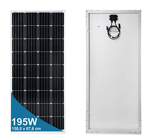 195 Watt 12 Volt Monokristalline Solarmodul