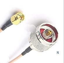 Gimax 1pcs 10m RF M17/113, RG316 MIL-C-17 SMA to N M/M Cable, 30