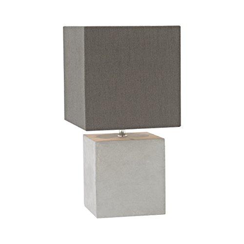 Elk Lighting D3176 Brocke Table Lamp, Polished Concrete