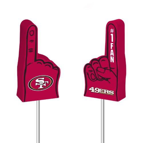 NFL San Francisco 49ers Foam Finger Antenna Topper