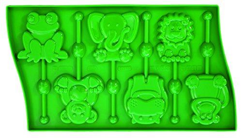 Pavonidea Lollipop - Formes Petits Animaux + 24 Batons