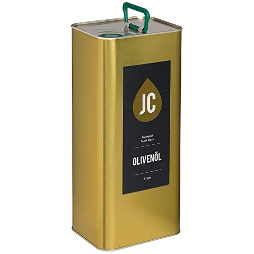 JC Olivenöl Nativ Extra - BIO Premium Qualität - Kalamata PDO in 3 Größen - 5l