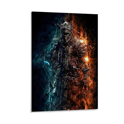 ABMMM Dark Souls Remastered Poster dekorative Malerei Leinwand Wandkunst Wohnzimmer Poster Schlafzimmer Malerei 20x30inch(50x75cm)