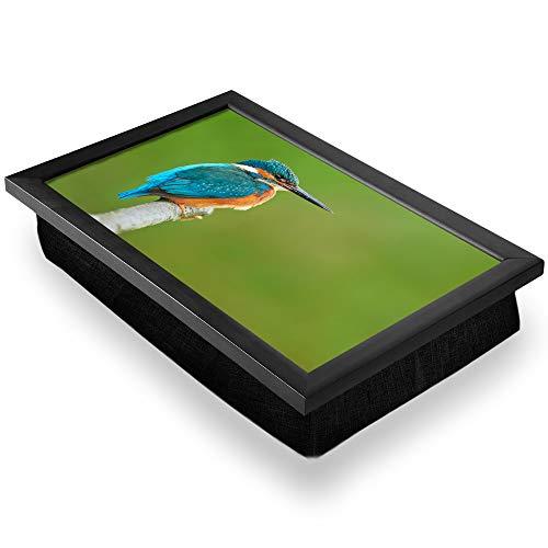 Kingfisher 45471 Plateau pour genoux avec petit oiseau Bleu