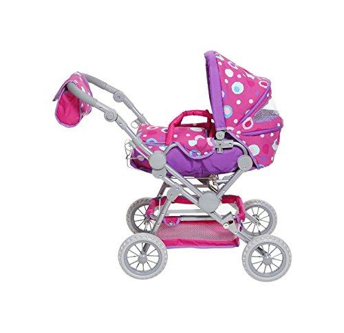 Knorrtoys 10815 Puppenwagen, Pink