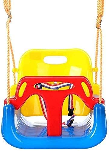 WYBD Columpio Al Aire Libre, Columpio Infantil Interior Exterior 3 En 1 Bebé Balanceo Colgando Al Aire Libre Silla De Columpio Bebé Sillón Fácil para Configurar El Árbol Colgante De La Cuerda