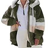 ❅❅Simple but Fashion Style That's Popular with Modern Women.Quality fleece great for cozy fit ,loose style with hood and pockets.The hood and front pockets are sure to keep you warm in this fall staple ❅❅It features dolman sleeve and loose style. Com...