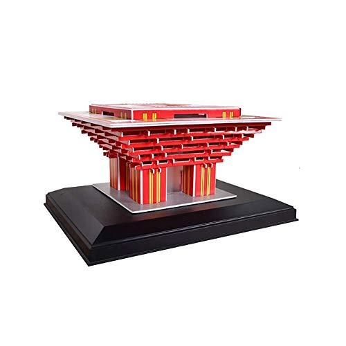 NAN 3D-Puzzle-Kit Puzzle Stereoskopische 3D-Baugruppe Modell Holzpuzzle Hergestellt Von Shanghai World Expo China Pavillon Gebäude Modell Craft Kit
