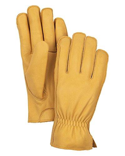 HESTRA Dakota 5-Finger Handschuhe tan Handschuhgröße 7 2020 Outdoor Handschuhe