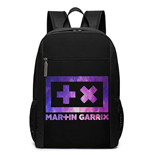 Lawenp Martin Garrix Logo Backpack 17 Inch Laptop Bags College School Backpack Casual Daypack for Travel