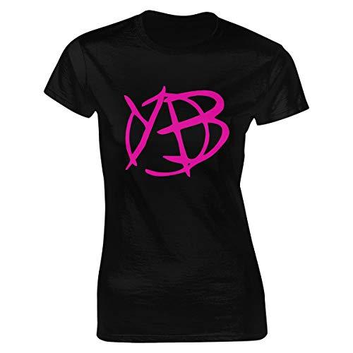 WPdragon Womens Yungblud T Shirt Logo Black XL Tee Shirts for Women Women