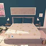 Baldiflex Materasso Singolo Memory Foam 3 Strati Sweet Armony - 190 x 80 x 25 cm - Cuscino Incluso RIV. Aloe Vera