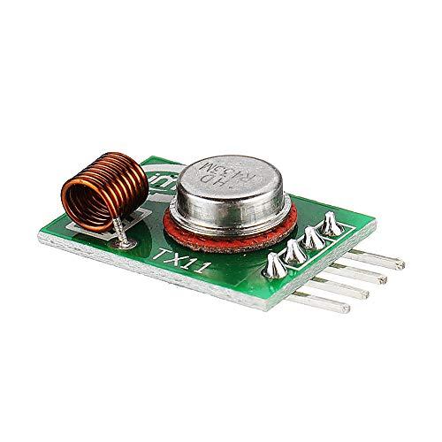 SHANG-JUN Fácil de Montar 433MHZ Ask 30pcs la Tarjeta de circuitos del módulo de transmisión inalámbrica de Alta Potencia del módulo TX11 Infinito emisión Conveniente