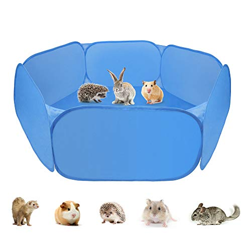 Zacro Tenda per Gabbia di Animali di Piccola, Box per Animali Portatile con Box per Piccoli Animali Box per cavie, Conigli, criceti, cincillà e Ricci
