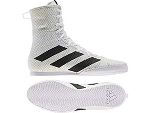 Adi Mens Box Hog 3 White Boxing Boots (UK 10)