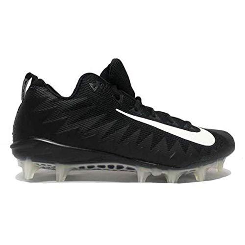 Nike Alpha Menace Pro Low TD PF Football Cleats (13, Black/White)