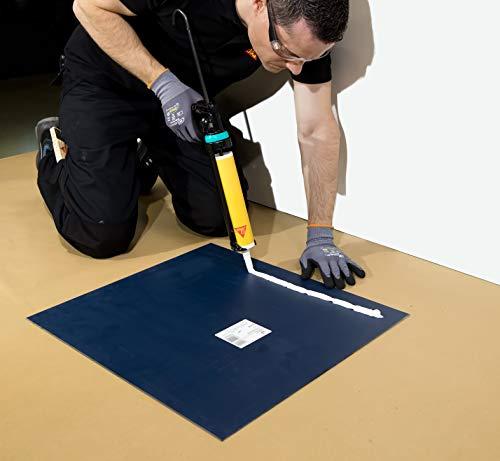Sikaflex – 111 Stick&Seal, Masilla multiuso, Adhesivo sellador, 290 cm3, Negro