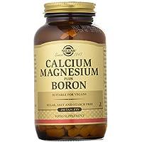 Solgar Calcio y Magnesio con Boro Comprimidos - Envase de 250