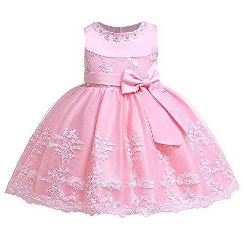 LZH Vestido de Aniversario para Bebes Meninas Vestido Formal de Festa de Casamento Flor para Crianças Pequenas