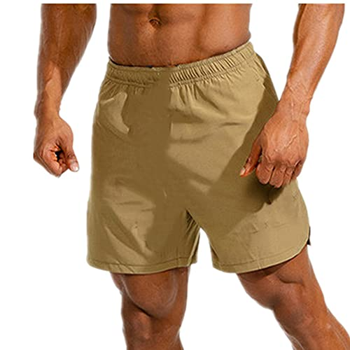 N\P Pantalones Cortos para Hombres Gimnasia Hombres Deportes atlético Corriendo