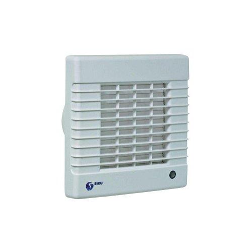 SIKU 100 ventilator voor kleine ruimten met timer en hygrostaat