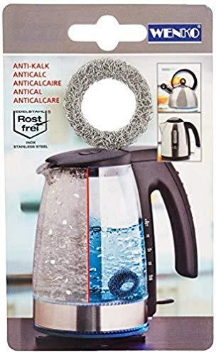 WENKO Kalkfänger Hexi Kalkfilter für Wasserkessel Wasserkocher Kalkentferner Kalkring Kalk entfernen Kalkreiniger Wenko, Silber