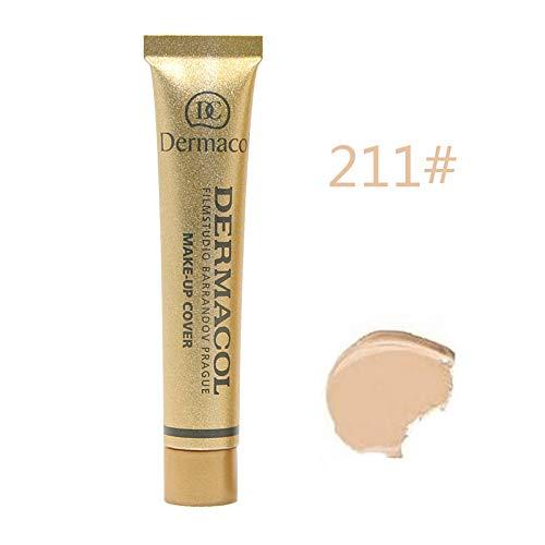 Dermacol Make-up Cover – stark deckende, wasserfeste Foundation mit LSF 30